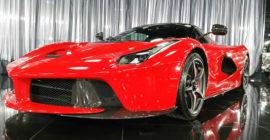 La Ferrari Red