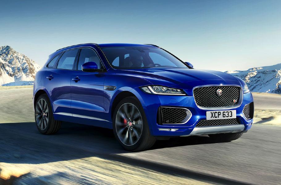 Jaguar F Pace Gat